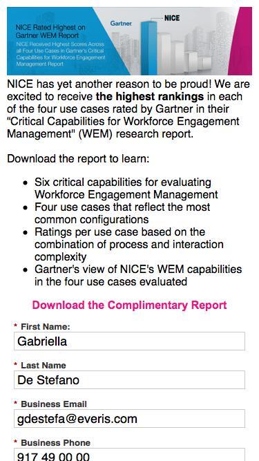 2018 Gartner Critical Capabilities for WEM Report