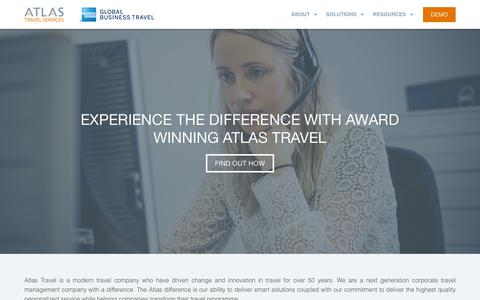 Screenshot of About Page atlas.ie - About - Atlas Travel - captured Nov. 13, 2018