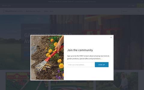 Screenshot of Home Page bluestonegarden.com - Best Lawn & Garden Tools | Garden Equipment from BlueStone Garden - captured Oct. 19, 2018