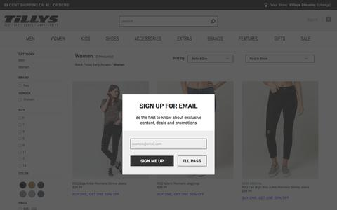 Women - Promos - Black Friday Early Access - RSQ Jeans 2 for $55 | Tillys