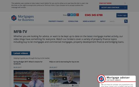 (1) MFB-TV | Mortgages for Business