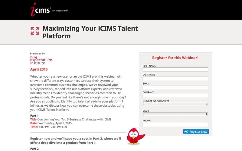 Maximizing Your iCIMS Talent Platform