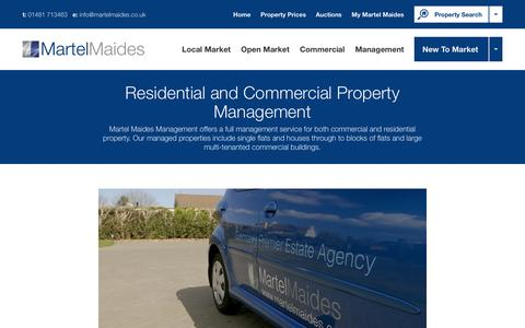 Screenshot of Team Page martelmaides.co.uk - Residential and Commercial Property Management | Martel Maides - captured June 27, 2016