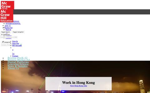 McGraw-Hill Education Jobs in Hong Kong