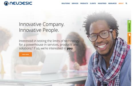Screenshot of Jobs Page neudesic.com - Careers - Neudesic - captured Oct. 21, 2015