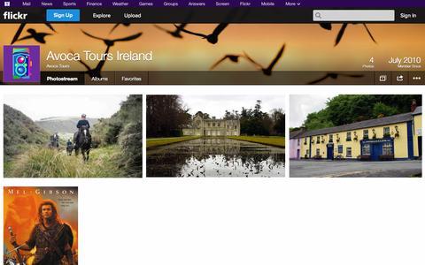 Screenshot of Flickr Page flickr.com - Flickr: Avoca Tours' Photostream - captured Oct. 23, 2014