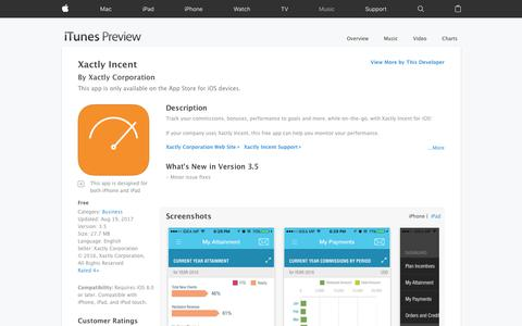 Xactly Incent on the App Store