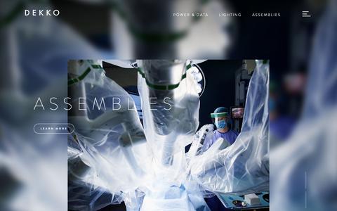 Screenshot of Home Page dekko.com - Dekko - captured June 14, 2019