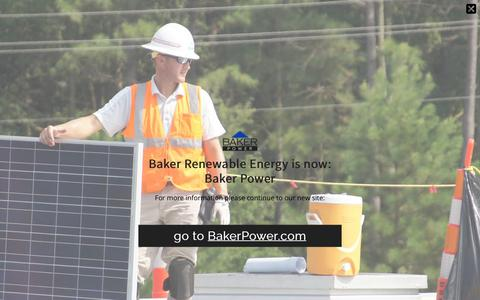 Screenshot of Testimonials Page bakerrenewable.com - Customer Testimonials | Baker Renewable Energy - captured Nov. 13, 2018