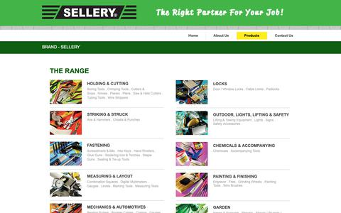 Screenshot of Products Page sellerytools.com.sg - Sellery Tools Pte Ltd - captured May 29, 2019