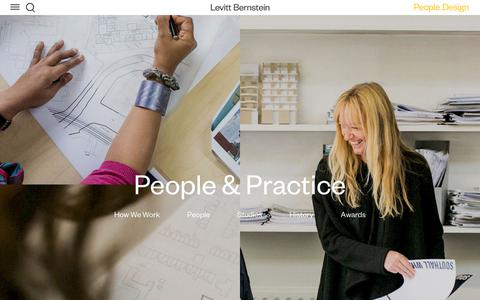 Screenshot of Team Page levittbernstein.co.uk - People & Practice — Levitt Bernstein - captured July 19, 2018