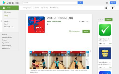 VertiGo Exercise (AR) - Apps on Google Play