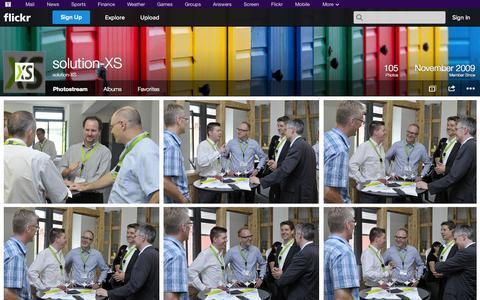 Screenshot of Flickr Page flickr.com - Flickr: solution-XS' Photostream - captured Oct. 26, 2014