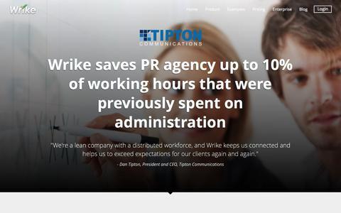 Tipton Communications Success Story | Wrike Customers