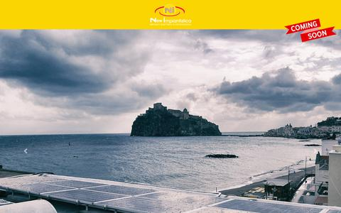 Screenshot of Home Page newimpiantistica.it - New Impiantistica Ischia - captured Oct. 20, 2018