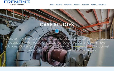 Screenshot of Case Studies Page fremontind.com - Case Studies - Fremont - captured Oct. 11, 2018