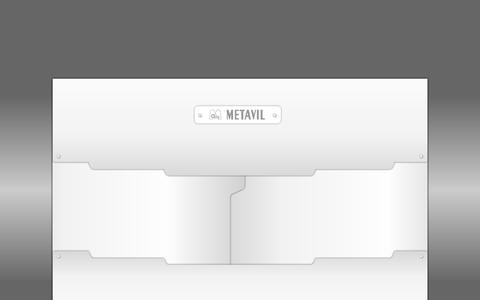 Screenshot of Home Page metavil.pt - METAVIL - Empresa Transformadora Metalo-Vidreira - captured Oct. 6, 2014