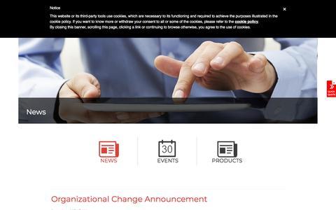 Screenshot of Blog unipowerco.com - News Archives - UNIPOWER LLC - captured Sept. 25, 2018