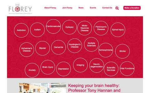 The Florey - Institute of Neuroscience and Mental Health
