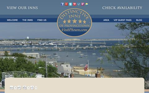Screenshot of Contact Page Maps & Directions Page visitptown.com - Find a Guesthouse or Bed and Breakfast in Provincetown - captured June 23, 2016