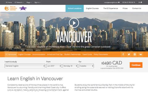 Learn English in Vancouver – ESL Vancouver English Language Schools