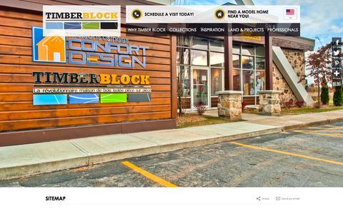 Screenshot of Site Map Page timberblock.com - Sitemap | Timberblock - captured Oct. 9, 2014