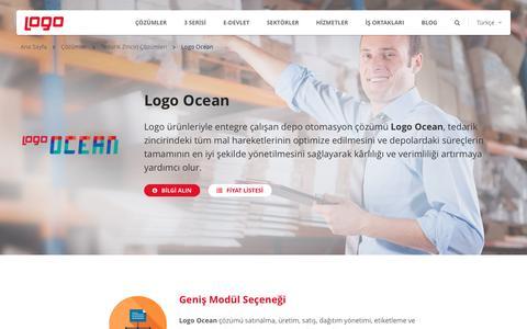 Depo Otomasyonu - Ocean | Tedarik Zinciri Çözümleri | Logo