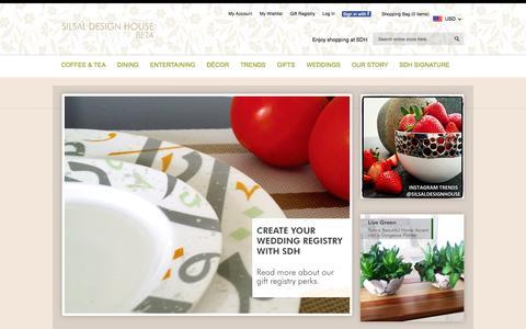 Screenshot of Press Page silsal.com - Silsal Design House - captured Oct. 4, 2014