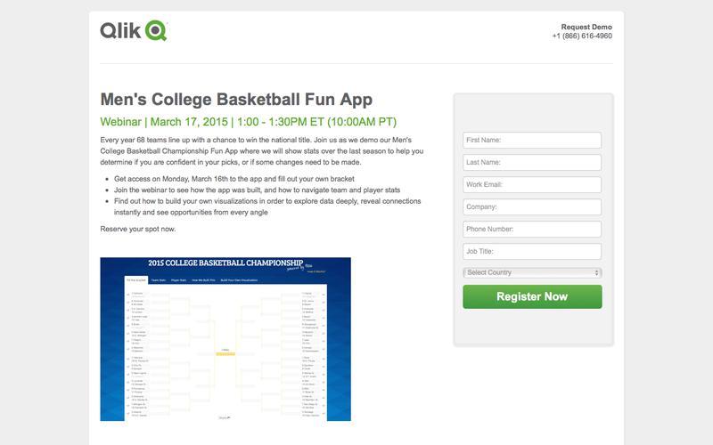 Men's College Basketball Fun App -