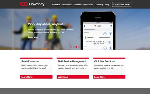 Enterprise Mobile Apps, Mobile Forms | Flowfinity