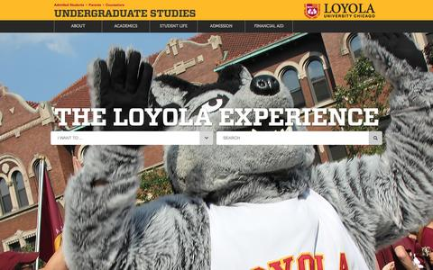 Loyola University Chicago - Undergraduate Studies