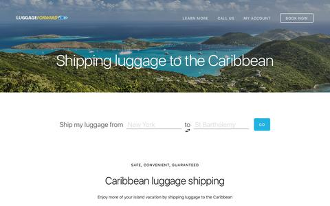 Shipping Luggage to the Caribbean - Door-to-Door Service - Every Island
