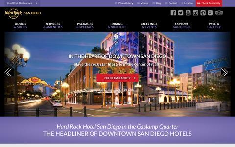 Hard Rock Hotel San Diego: A Stylish Gaslamp Quarter Hotel