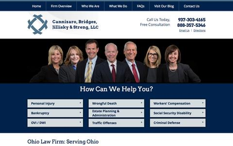 Screenshot of Maps & Directions Page cfbjs.com - Union County Personal Injury Lawyer   Logan County Car Accident & Wrongful Death Attorney   Ohio   OH - captured Oct. 1, 2014