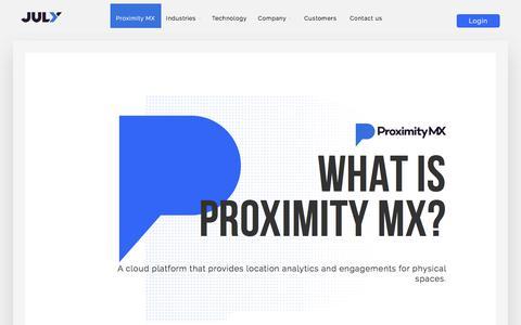 Location Insights & Proximity Marketing