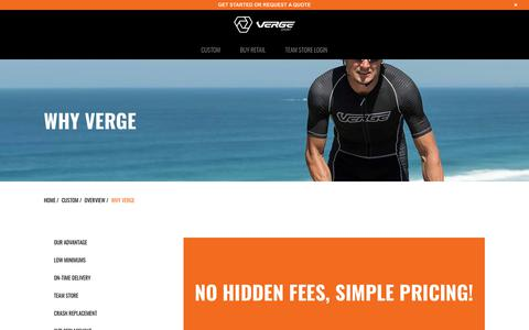 Screenshot of Pricing Page vergesport.com - Pricing - Verge Sport - captured Sept. 25, 2018