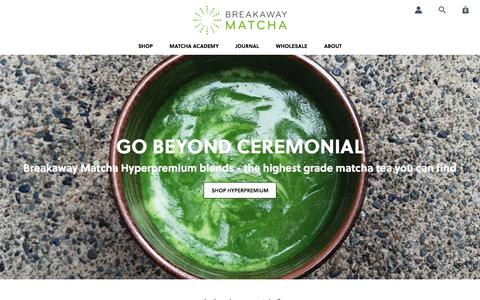 Quality Japanese Matcha Green Tea | Beyond Ceremonial