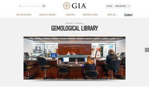 Gemological Library