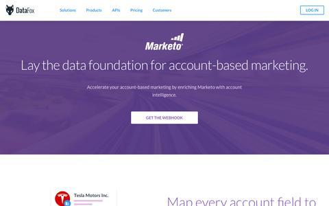 DataFox | Pipeline Management with Marketo