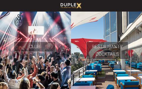 Screenshot of Home Page duplex.cz - DUPLEX Prague  DUPLEX Prague - captured Sept. 22, 2018
