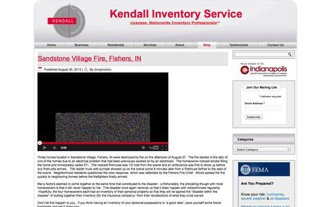 Screenshot of Blog kendallinventoryservice.com - Kendall Inventory Blog | Kendall Inventory Service - captured Oct. 6, 2014