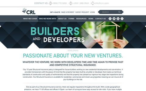Screenshot of Developers Page c-r-l.com - Developers - CRL : CRL - captured Jan. 14, 2016