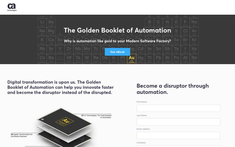 The Golden Booklet of Automation - CA Technologies
