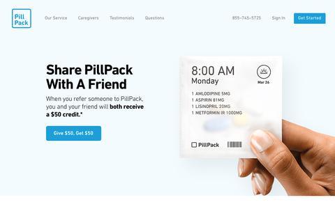 Refer A Friend - PillPack