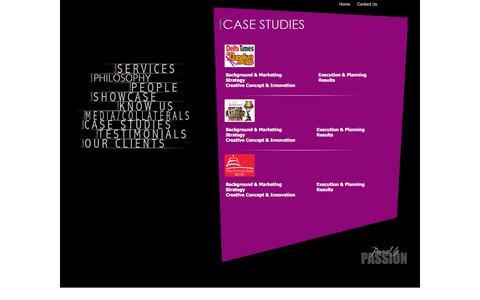 Screenshot of Case Studies Page showcraftproductions.com - Event Management Company England : Event Management Services, Event Organisers England - captured Feb. 16, 2016