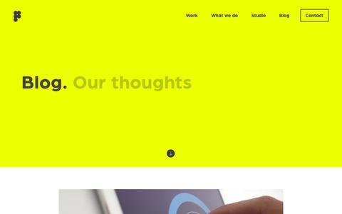 Screenshot of Blog prime-do.com - Blog – Prime Total Product Design - captured Sept. 25, 2018