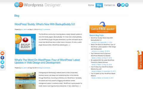 Wordpress Designers Blog