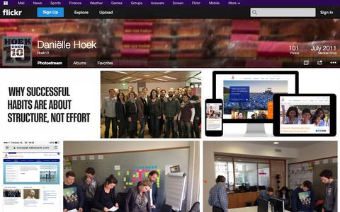 Screenshot of Flickr Page flickr.com - Flickr: Hoek10's Photostream - captured Oct. 27, 2014