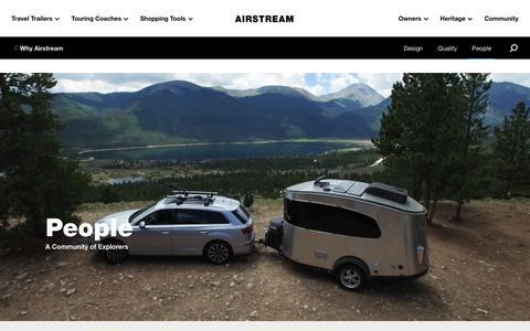 Screenshot of Team Page airstream.com - People   Airstream - captured Jan. 29, 2020