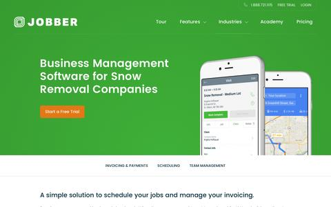 Snow Removal Scheduling Software | Jobber